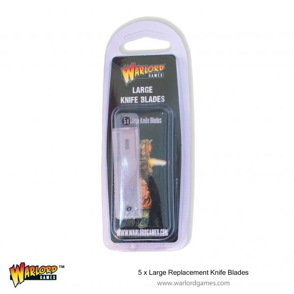 Warlord: (Accessory) Large Replacement Knife Blades (x5)