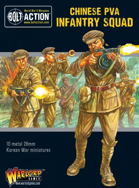Bolt Action, 2nd Edition: Korean War - Chinese PVA Infantry Squad