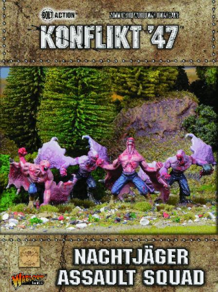 Bolt Action (Konflikt '47): Nachtjäger Assault Squad