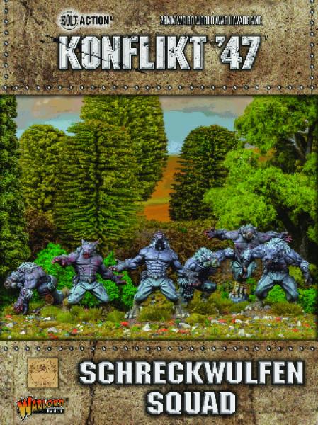 Bolt Action (Konflikt '47): Schreckwulfen Squad