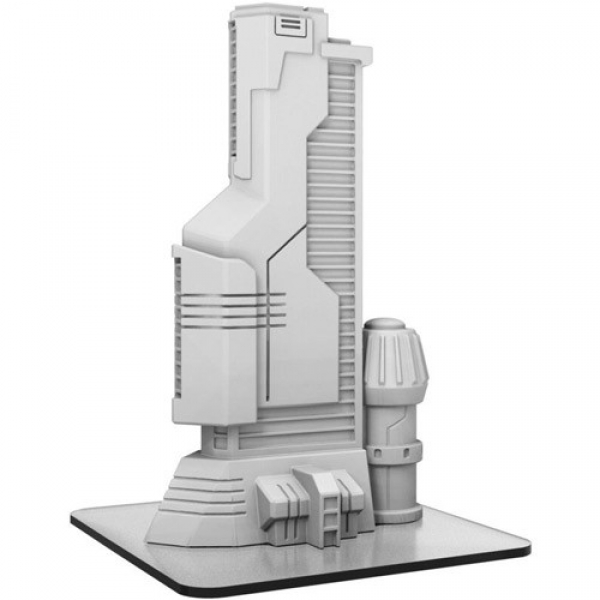 Monsterpocalypse: (Terrain) UIC Industries Building (resin)