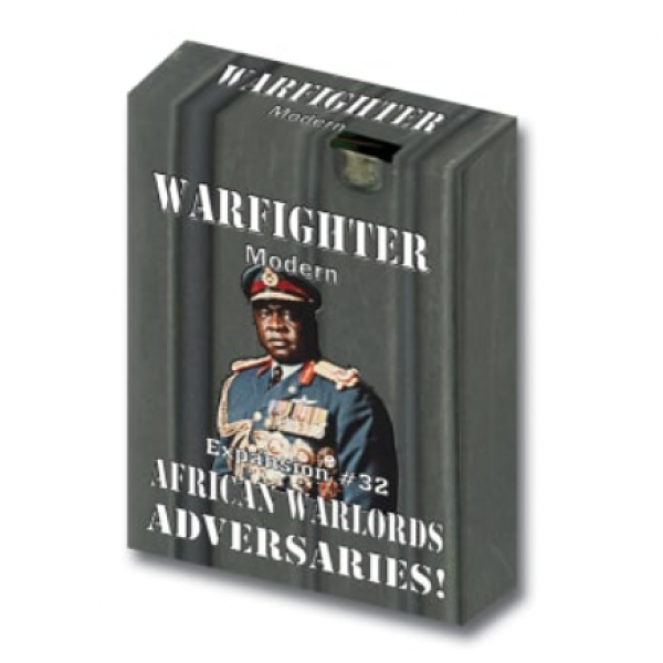 Warfighter Modern: Expansion 32 - African Warlords Adversaries
