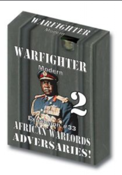 Warfighter Modern: Expansion 33 - African Warlords Adversaries #2