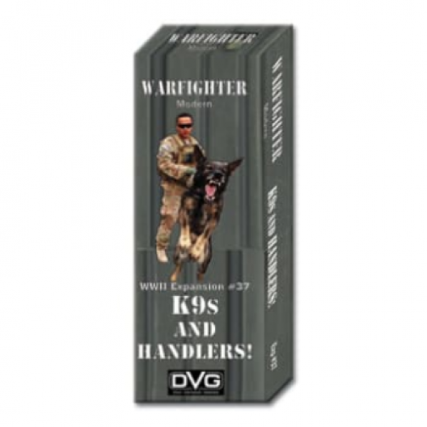 Warfighter Modern: Expansion 37 - K9s and Handlers