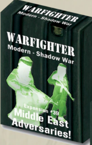Warfighter Shadow War: Expansion 39 - Middle Eastern Adversaries