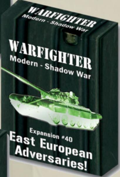 Warfighter Shadow War: Expansion 40 - East European Adversaries
