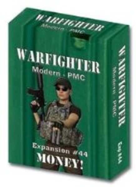 Warfighter Private Military Contractor (PMC): Expansion #44 Money