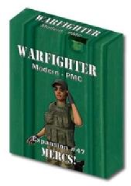 Warfighter Private Military Contractor (PMC): Expansion #47 Mercs!