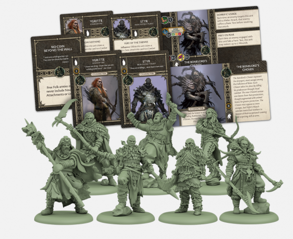 A Song of Ice & Fire Miniatures Game: Free Folk Heroes Box #1