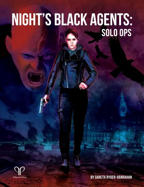 Night's Black Agents RPG: Solo Ops