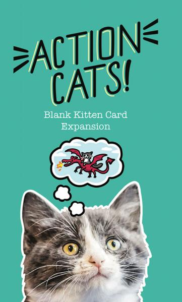 Action Cats: Blank Card Expansion