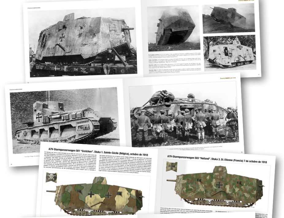 AK-Interactive: Abteilung 502 - Deutsche Panzer German Tanks in WWI (1917-1918) (HC)