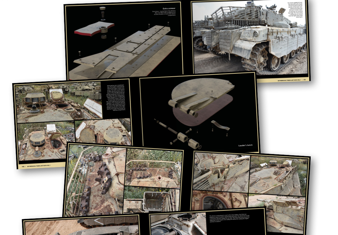 AK-Interactive: Abteilung 502 Their Last Path IDF - Tank Wrecks Merkava MK 1 and 2