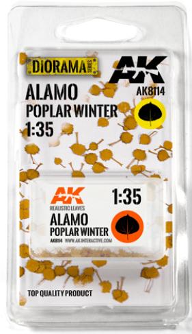 AK-Interactive: Vegetation (Leaves) - Alamo Poplar Winter Leaves 1:35