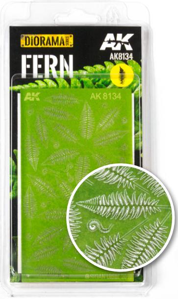AK-Interactive: Vegetation (Plants) - Fern (laser-cut)