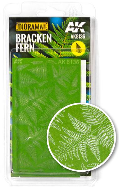 AK-Interactive: Vegetation (Plants) - Bracken Fern (laser-cut)