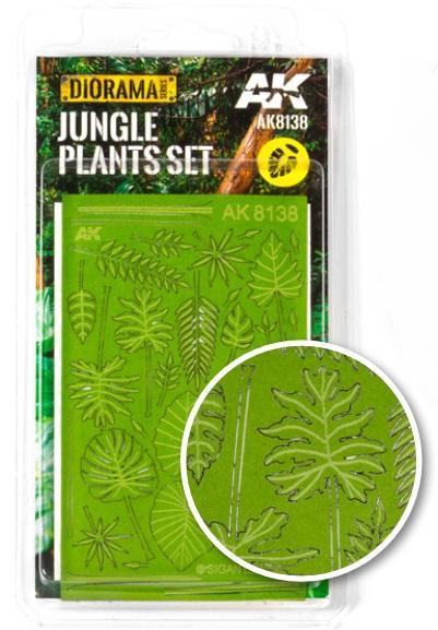 AK-Interactive: Vegetation (Plants) - Jungle Plants Set (laser-cut)