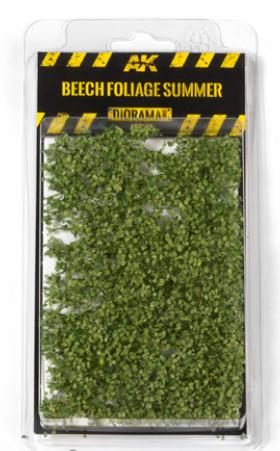 AK-Interactive: Vegetation (Tufts) - Fallen Leaves Mat Beech Foliage Summer