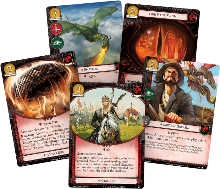 A Game of Thrones LCG: Dragons of the East