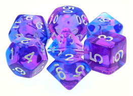 Dargon's Dice: Poetic Doom Set 16mm (7)