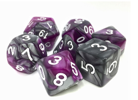 Dargon's Dice: King's Purser Set 16mm (7)