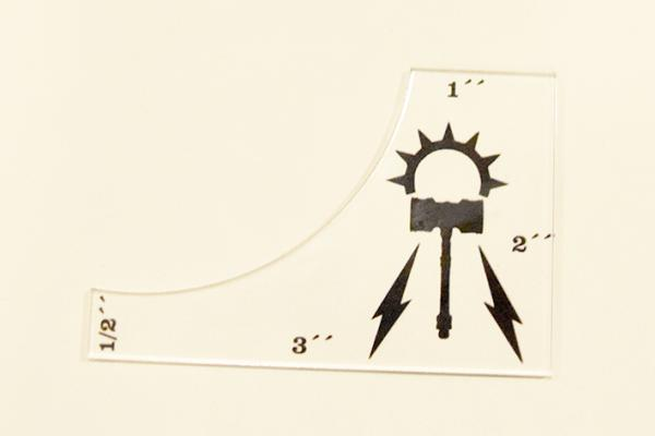 (Accessory) Age of Sigmar Order Measuring Ruler