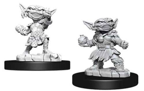 Pathfinder Deep Cuts Unpainted Miniatures: Female Goblin Alchemist (2)