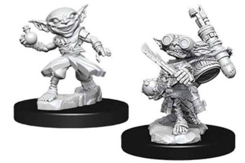 Pathfinder Deep Cuts Unpainted Miniatures: Male Goblin Alchemist (2)