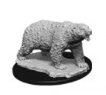 WizKids Deep Cuts Unpainted Miniatures: Polar Bear