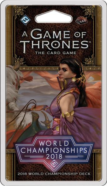 A Game of Thrones LCG: 2018 Joust World Championship Deck