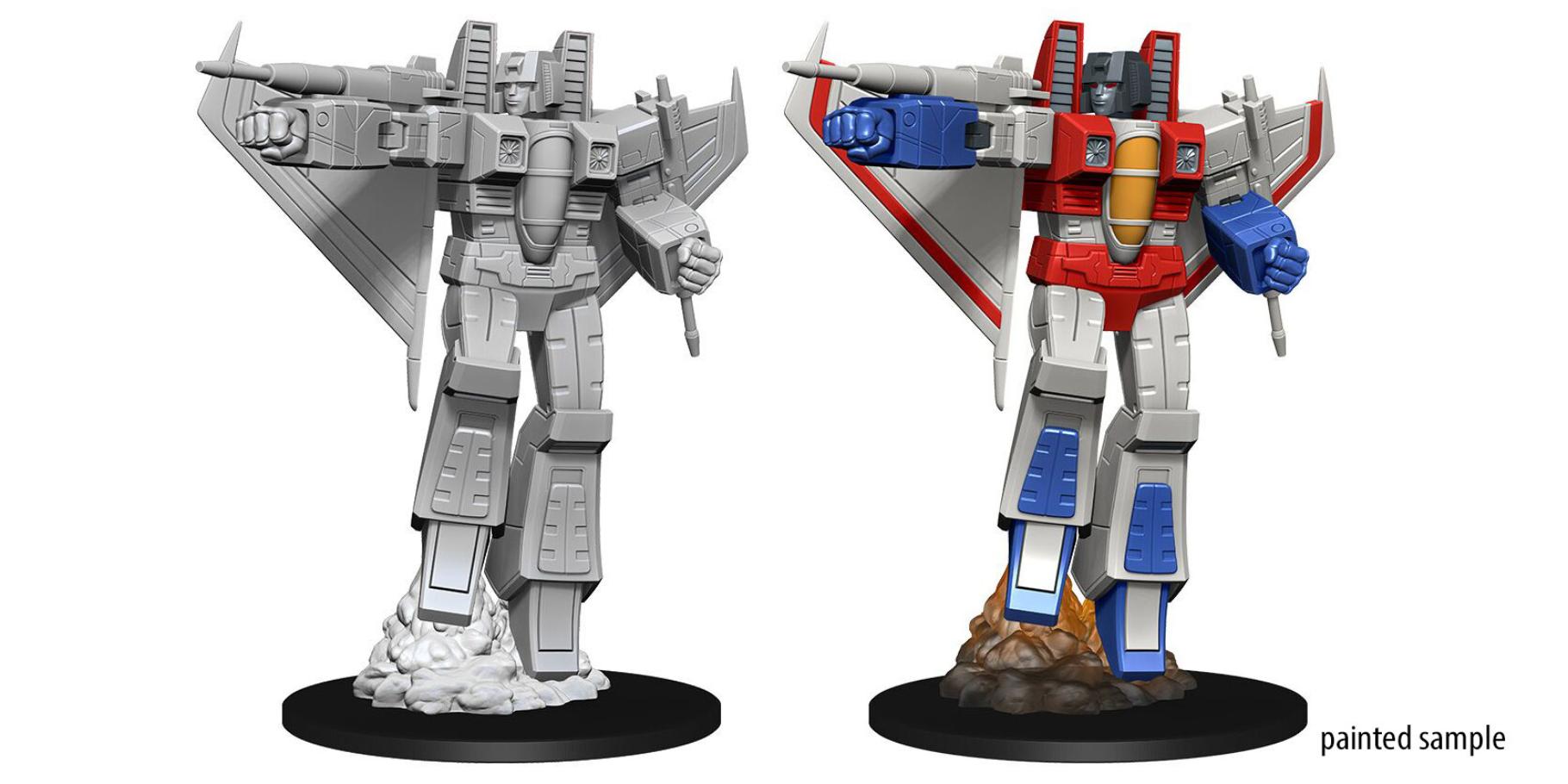WizKids Transformers Deep Cuts Unpainted Miniatures: Starscream (1)