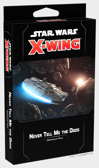 X-Wing 2.0: Never Tell Me the Odds Obstacles Pack