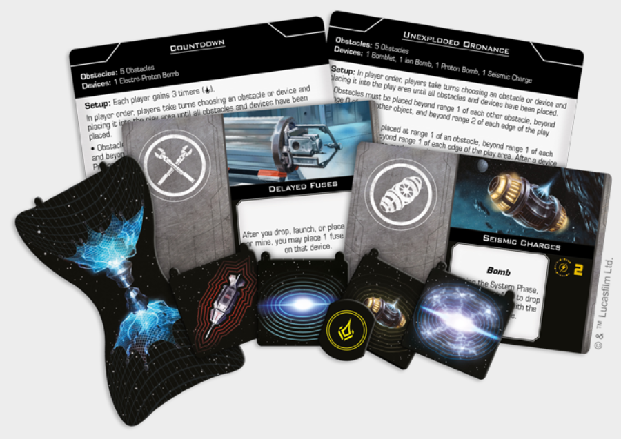 X-Wing 2.0: Fully Loaded Devices Pack