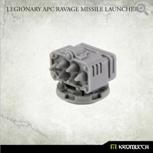 Kromlech Accessories: Legionary APC Ravage Missile Launcher (1)