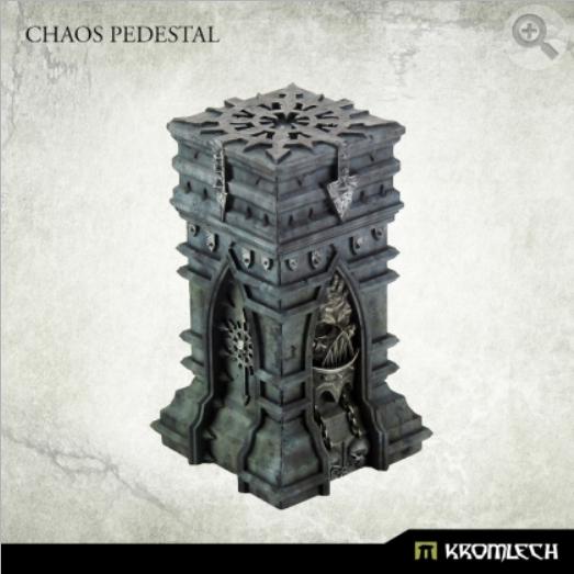 Kromlech Conversion Bitz: Chaos Pedestal (1)