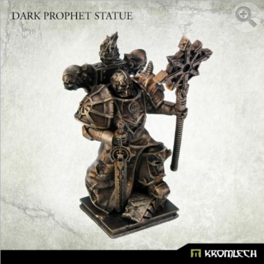 Kromlech Conversion Bitz: Dark Prophet Statue (1)