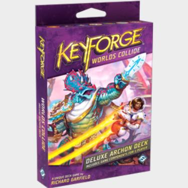 KeyForge: Worlds Collide Deluxe Archon Deck