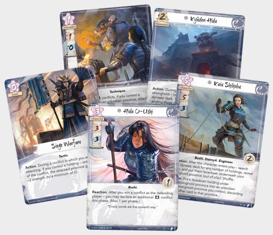 Legend of the Five Rings LCG: Defenders of Rokugan Pack