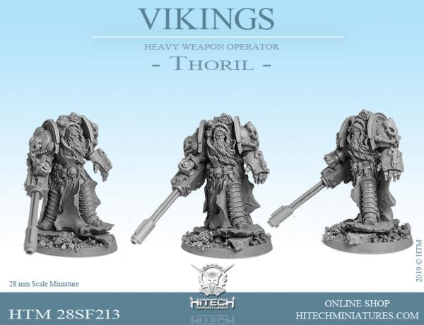 HiTech Miniatures: (Vikings) Thoril