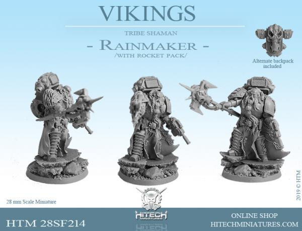 HiTech Miniatures: (Vikings) Rainmaker
