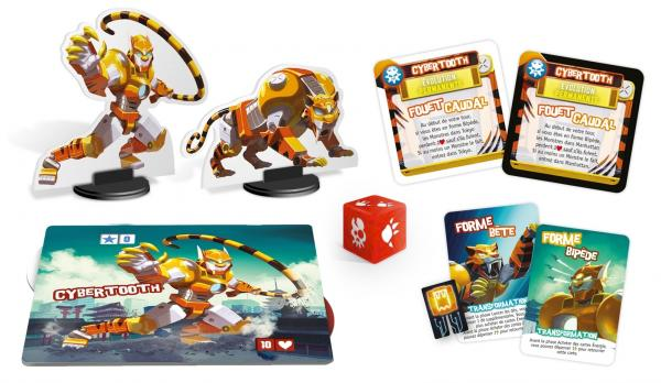 King of Tokyo/New York: Monster Pack - Cybertooth