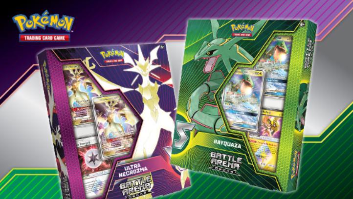 Pokemon CCG: Rayquaza- GX vs Ultra Necrozma-GX Battle Arena Deck (1)