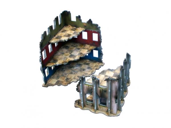 Miniature Terrain: City Debris