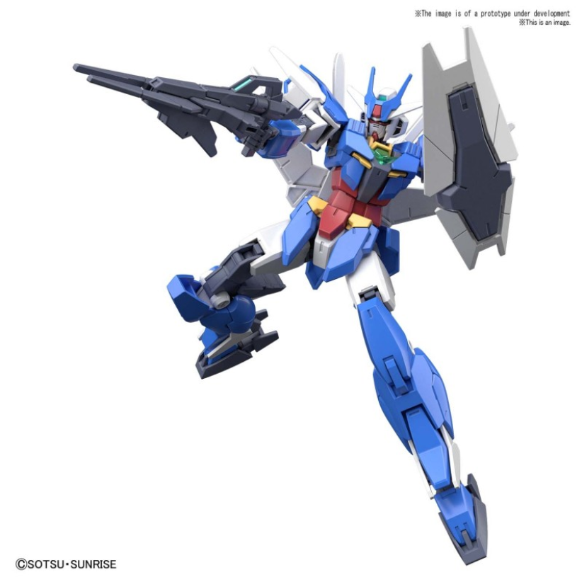 #01 Earthree Gundam ''Gundam Build Divers RE:Rise'', Bandai Spirits HGBD:R 1/144