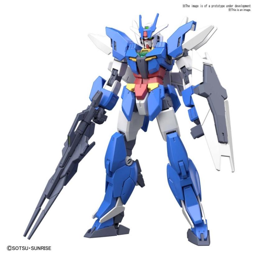 #01 Earthree Gundam ''Gundam Build Divers RE:Rise'', Bandai Spirits HGBD:R 1/144