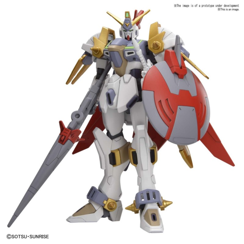 #04 Gundam Justice Knight ''Gundam Build Divers RE:Rise'', Bandai Spirits HGBD:R 1/144