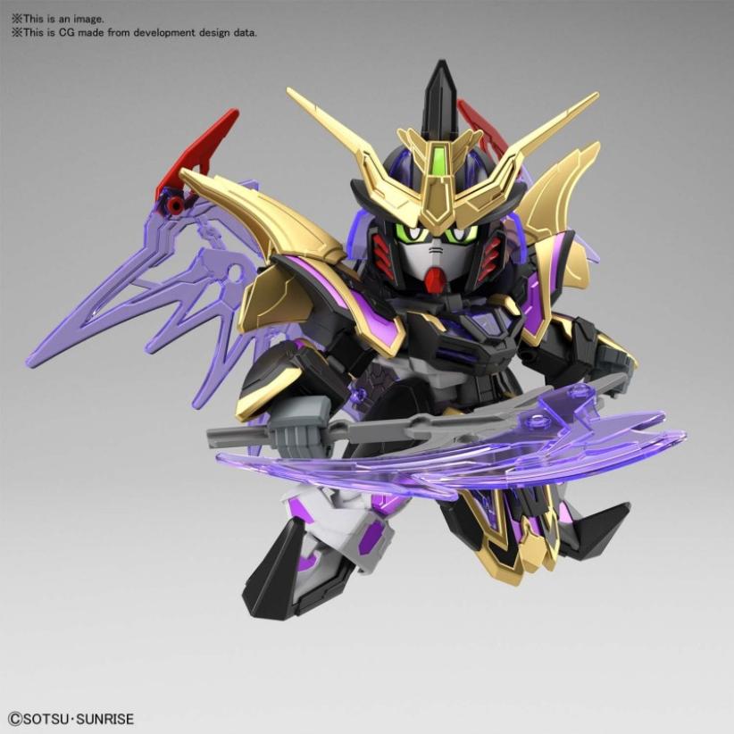 #27 Xu Huang Gundam Deathscythe ''SD Sangoku Soketsuden'', Bandai Spirits SD