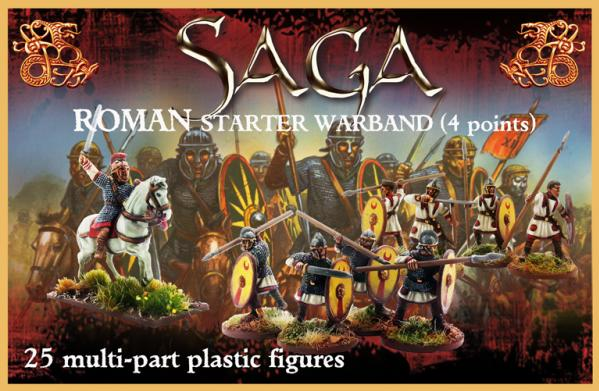 SAGA: Plastic Roman Starter Warband (4 point) (25)