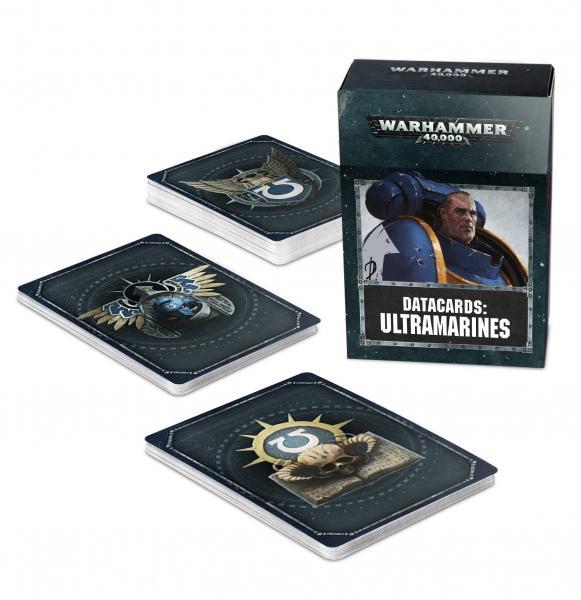 WH40K: Ultramarines Datacards (2019)