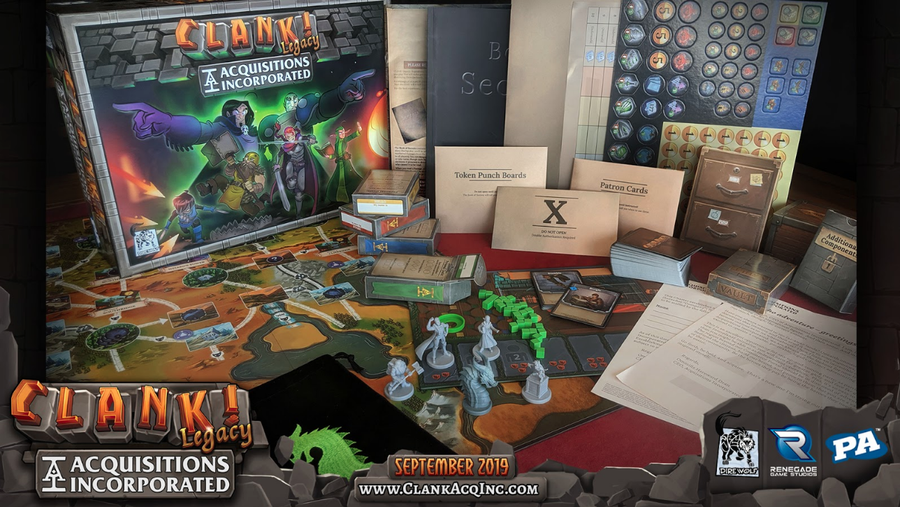 Clank! Legacy: Acquisitions Incorporated Core Game